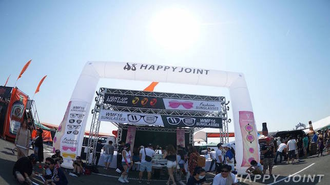 WMF'16 HAPPY JOINTブース